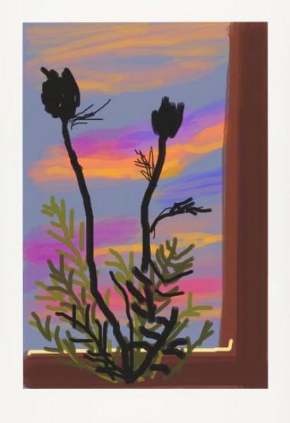 David Hockney, Early Morning, 2009
