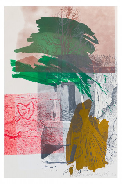Robert Rauschenberg, Earth Day, 1990