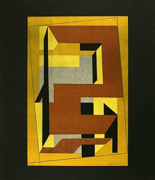 Victor Vasarely, Gordes Taira, 1971