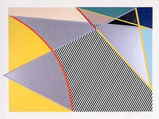Roy Lichtenstein, Imperfect 223, 1988