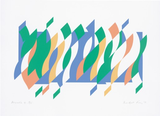 Bridget Riley, Arcadia 4, 2013