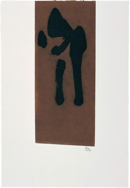Robert Motherwell, Primal Sign II, 1980