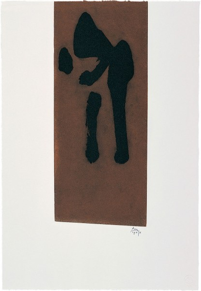 Robert Motherwell, Primal Sign II, 1980