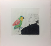 Félicité Sleeping with Parrot