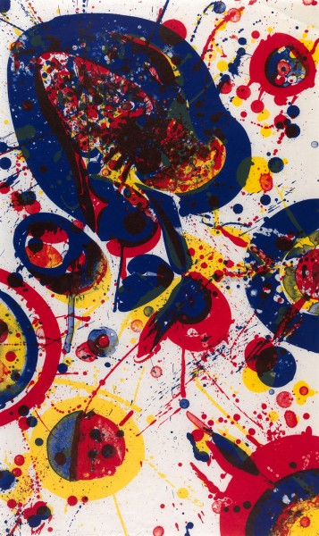 Sam Francis, An Other Set - X, 1963