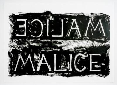 Bruce Nauman, Malice, 1980