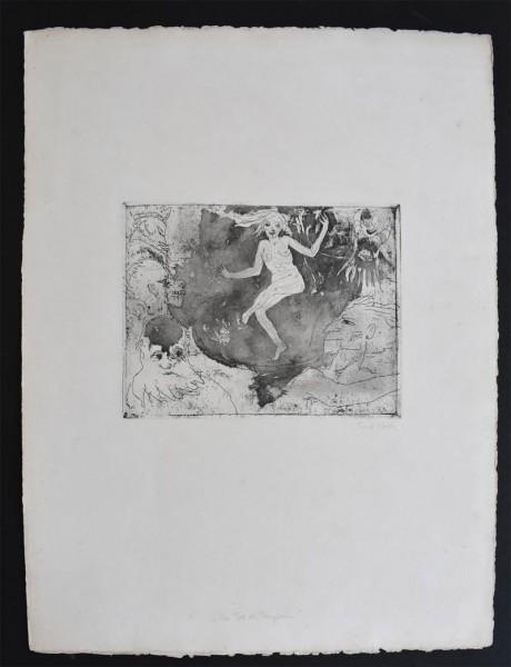 Emil Nolde, Death as a Dancer | Der Tod als Tänzerin, 1918