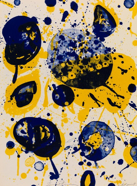 Sam Francis, An 8 Set - 5, 1963