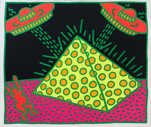 Keith Haring, Untitled (Fertility #2), 1983