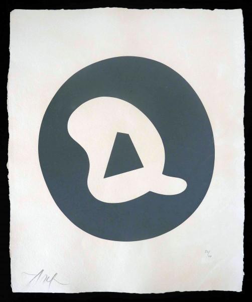 """Hans Arp, Untitled, from """"Le Soleil Recerclé"""", 1962/1965"""