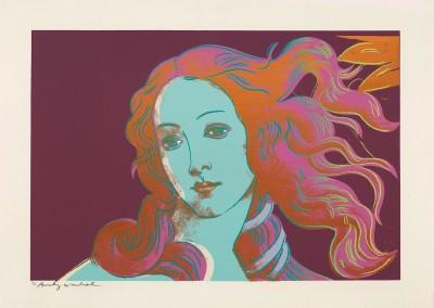 Andy Warhol - Details of Renaissance Paintings (Sandro Botticelli, Birth of Venus, 1482) (FS II.317)