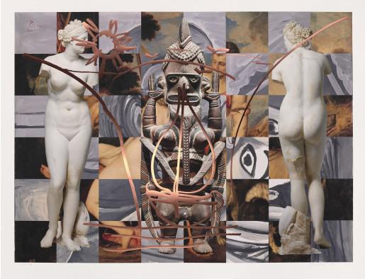 Jeff Koons, Antiquity (Uli), 2019