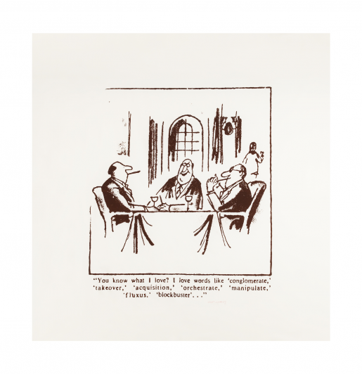 Robert Watts, New Yorker Cartoon, 1987