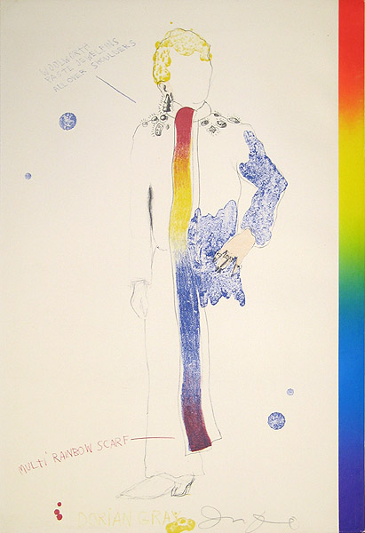 Jim Dine, Dorian Gray, Rainbow, 1968
