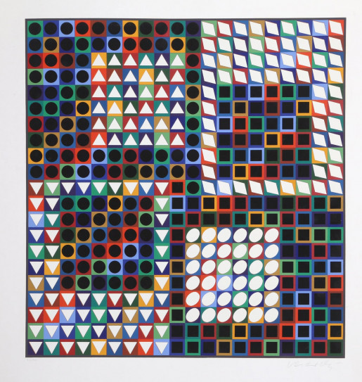 Victor Vasarely, Our MC, ca.1965