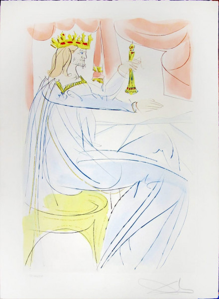 Salvador Dalí, King Solomon from Our Historical Heritage, 1975