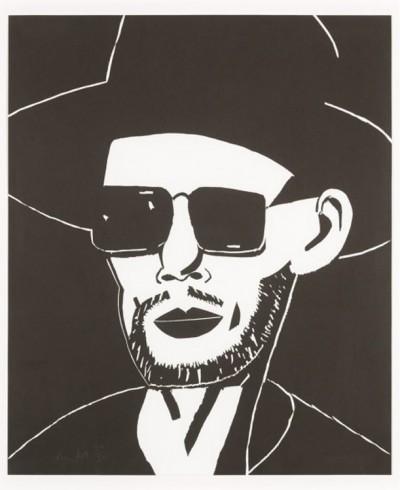 Black Hat (Tim) by Alex Katz