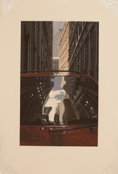 Richard Estes, Downtown-Reflections, 2001