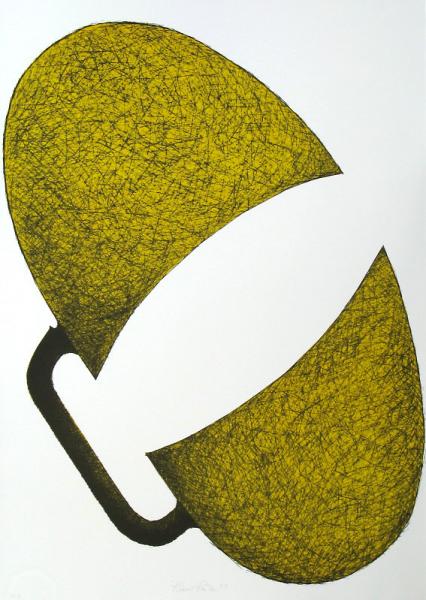 Klaus Rinke, Hohes C, A, 1965