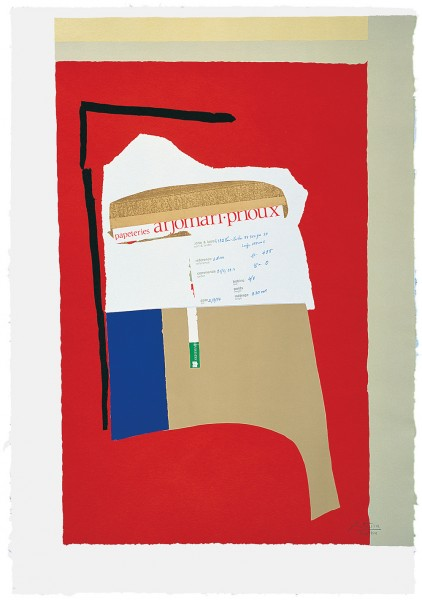 Robert Motherwell, America - La France Variations I, 1984