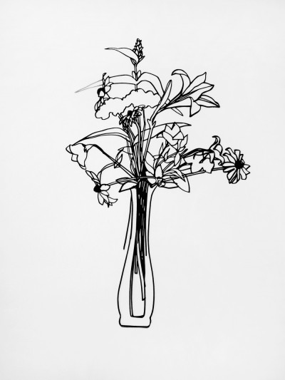 Tom Wesselmann, Wildflower Bouquet, 1987