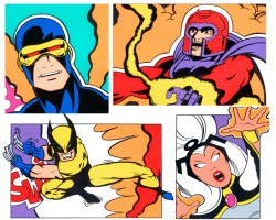 John CRASH Matos, X-Men Portfolio, 2000