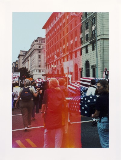 Josephine Meckseper-Untitled (March on Washington 9/24/05, Coffins, Xray)