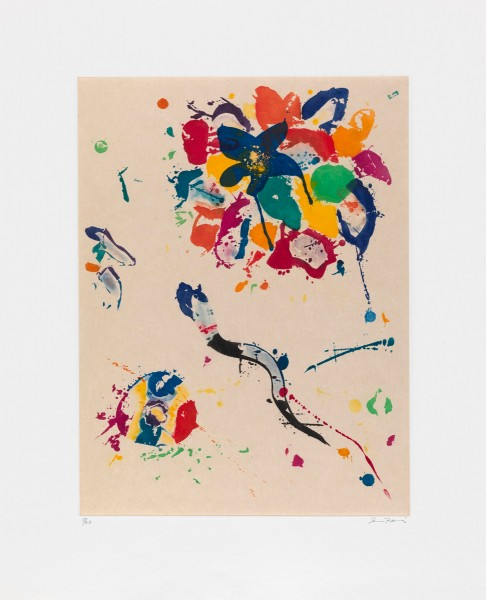 Sam Francis, Untitled, 1990
