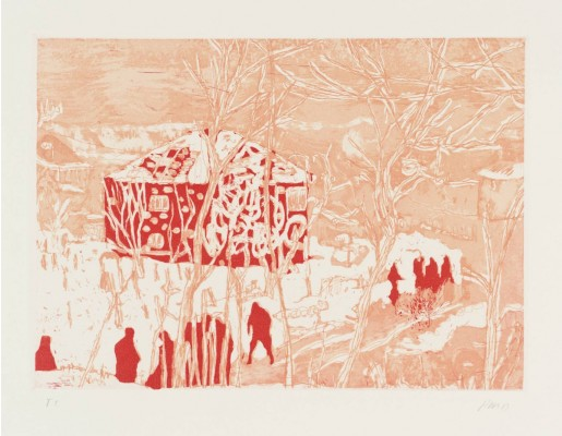 Peter Doig, Red House, 1996