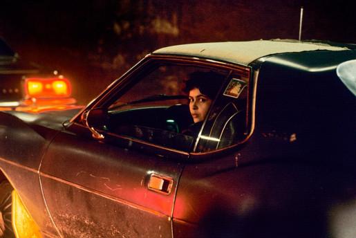 Willy Spiller, Night Cruiser in Manhattan, New York, 1983