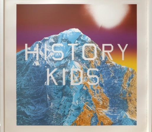 Ed Ruscha, History Kids, 2013