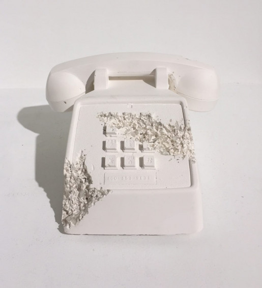 Daniel Arsham, Telephone (Future Relic FR-05), 2016