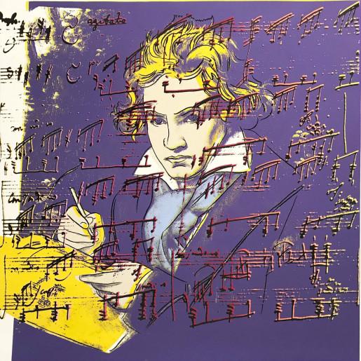 Andy Warhol, Beethoven (FS II.390), 1987