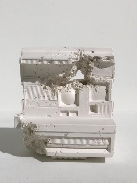 Daniel Arsham, Polaroid (Future Relic 06), 2016