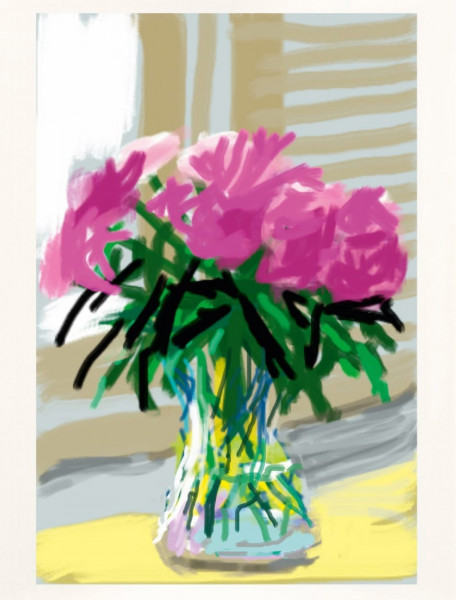 David Hockney, My Window 'No. 535', 2010