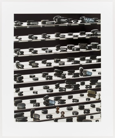 Dead Black Utopia by Damien Hirst
