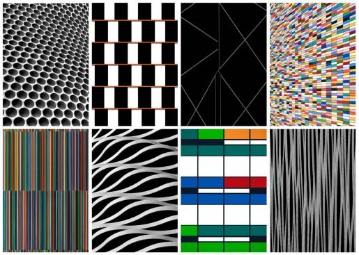 Roland Fischer, Façades on Paper IV, 2012