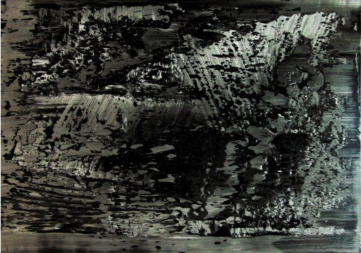 Gerhard Richter, Abstraktes Foto (Abstract Photo), 1989