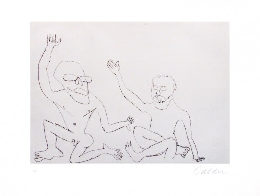 Alexander Calder, Santa Claus 6, 1974