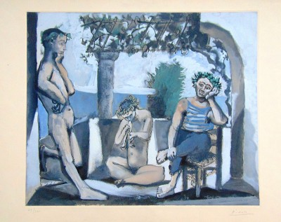 Bacchanal | Bacchanale by Pablo Picasso