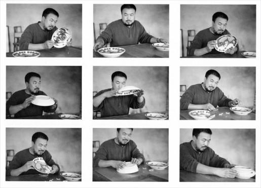 Ingeborg Lüscher, Magician Photos, Nr. 345 (Ai Weiwei), 1997