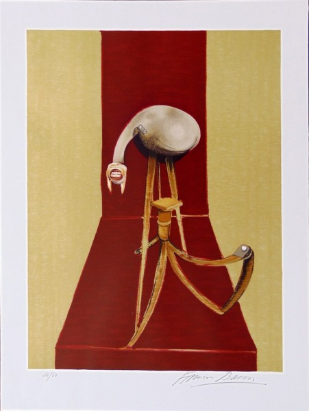 Francis Bacon, Central Panel, from: Second Version of the Triptych 1944, 1989