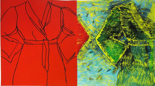 Jim Dine, Dexter and Gus, 2002