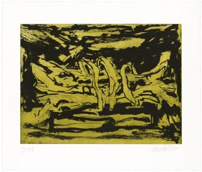 Georg Baselitz-From: Winterschlaf I - X
