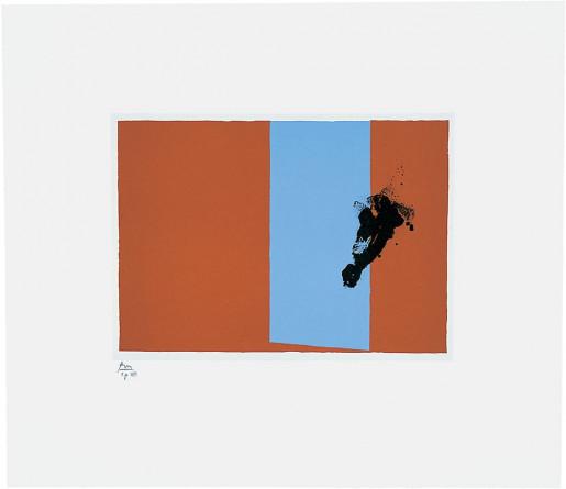 Robert Motherwell, Paris Suite III (Autumn), 1980