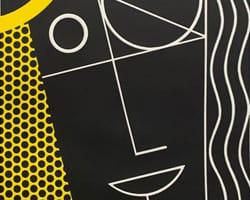 Modern Head #2 from Modern Head series by Roy Lichtenstein