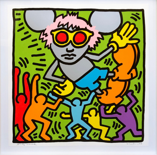 Keith Haring, Andy Mouse #2, 1986