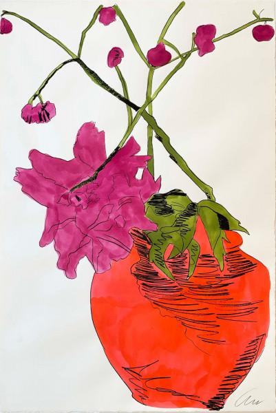 Andy Warhol, Flowers (Hand-Colored) (FS II.117), 1974