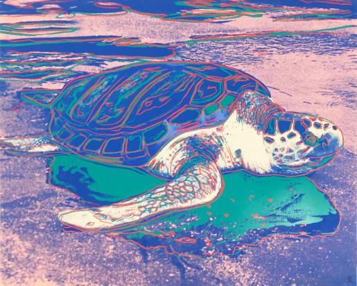 Andy Warhol, Turtle (FS II.360A), 1985