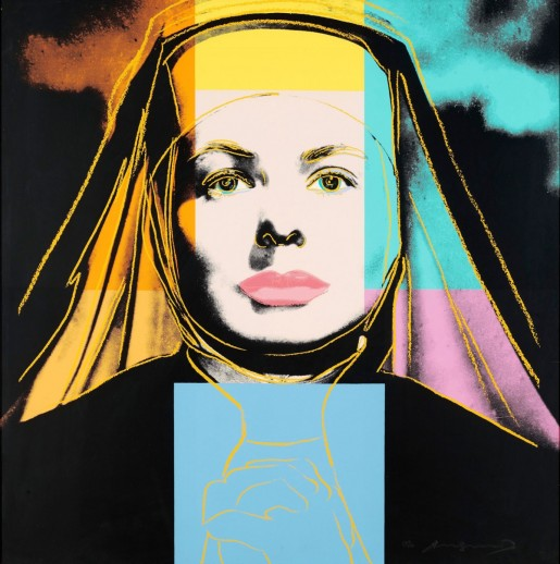 Andy Warhol, Ingrid Bergman, The Nun FS II.314, 1983